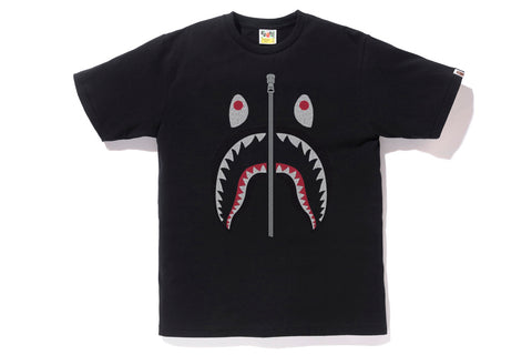 EMBROIDERY STYLE SHARK TEE