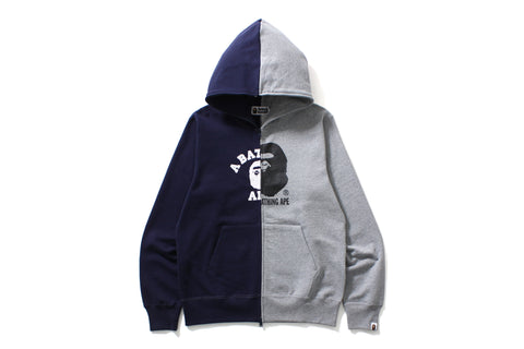 COLLEGE X BY BATHING FULL ZIP HOODIE