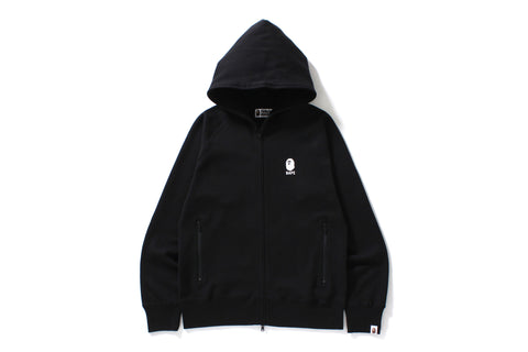 DOUBLE KNIT FULL ZIP HOODIE