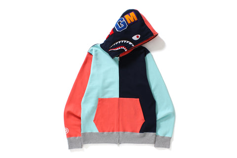 MULTI SHARK FULL ZIP HOODIE