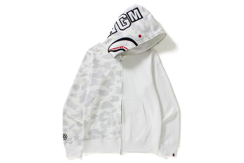 CITY CAMO HALF SHARK FULL ZIP HOODIE