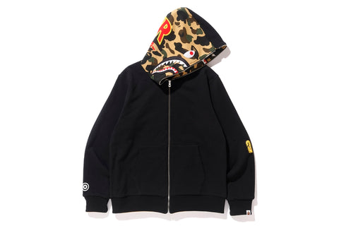 REVERSIBLE SHARK FULL ZIP HOODIE