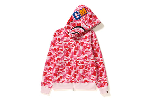 ABC CAMO SHARK FULL ZIP HOODIE