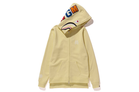 SHARK LONG FULL ZIP HOODIE