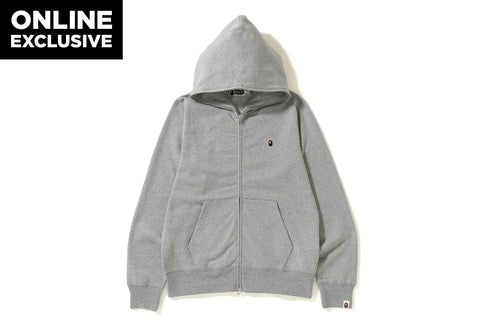 ONE POINT FULL ZIP HOODIE  [ONLINE EXCLUSIVE]