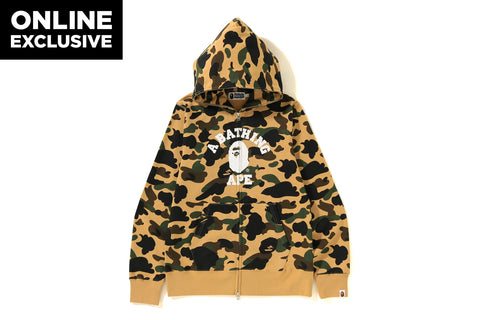 1ST CAMO COLLEGE FULL ZIP HOODIE  [ONLINE EXCLUSIVE]