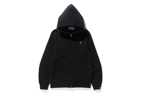 SILICON ONE POINT FULL ZIP HOODIE