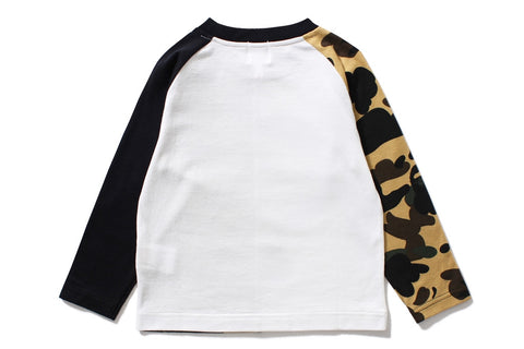 1ST CAMO MILO SHARK LONG SLEEVE TEE