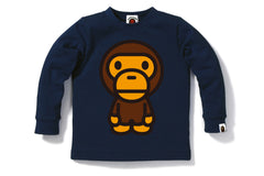 BIG BABY MILO LONG SLEEVE TEE