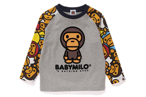 ALL BABY MILO MULTI  LONG SLEEVE TEE