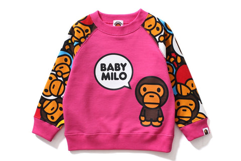 ALL BABY MILO MUL MILO & LISA CREWNECK