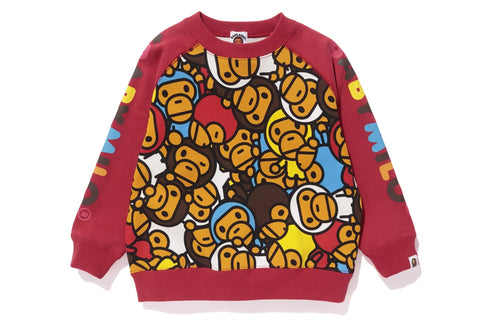 ALL BABY MILO MULTI CREWNECK