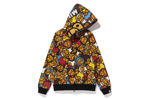 ALL BABY MILO MULTI FULL ZIP HOODIE