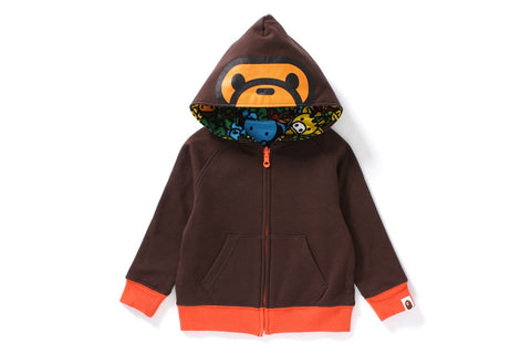 MILO ALL ISLAND REVERSIBLE ZIP HOODIE