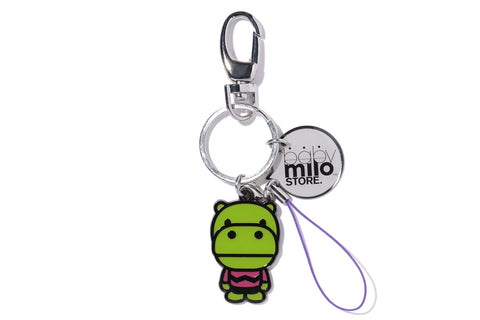 KEY CHAIN HIPPO EPOXY RESIN METAL