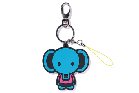 KEY CHAIN 2D ELEPH RUBBER