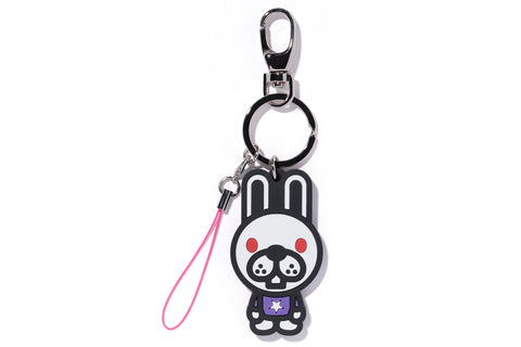 KEY CHAIN 2D BABY DOPPY RUBBER