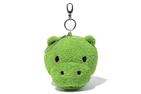 KEY CHAIN FACE PLUSH HIPPO