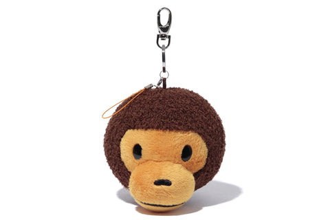 KEY CHAIN FACE PLUSH MILO