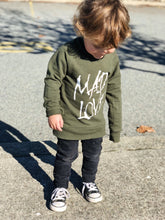 Mad love jumper- khaki