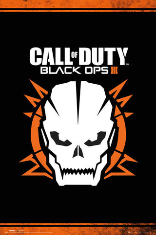 Call Of Duty Black Ops 3 - Skull Maxi Poster