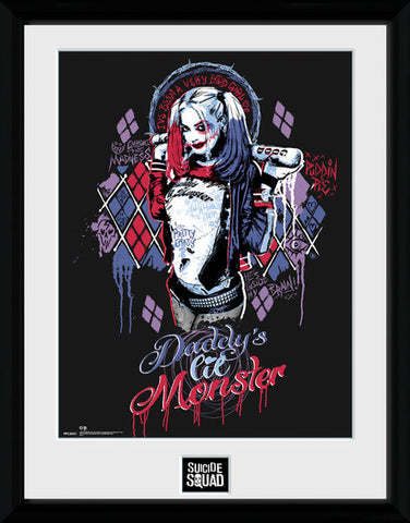 Suicide Squad - Harley Quinn Monster 30 x 40 Collector Print