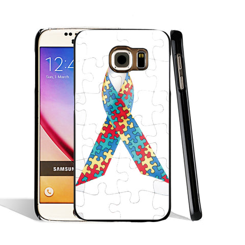 NEW - Autism Awareness Puzzle Samsung Cover