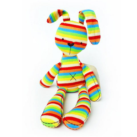 Rainbow Rabbit Plush