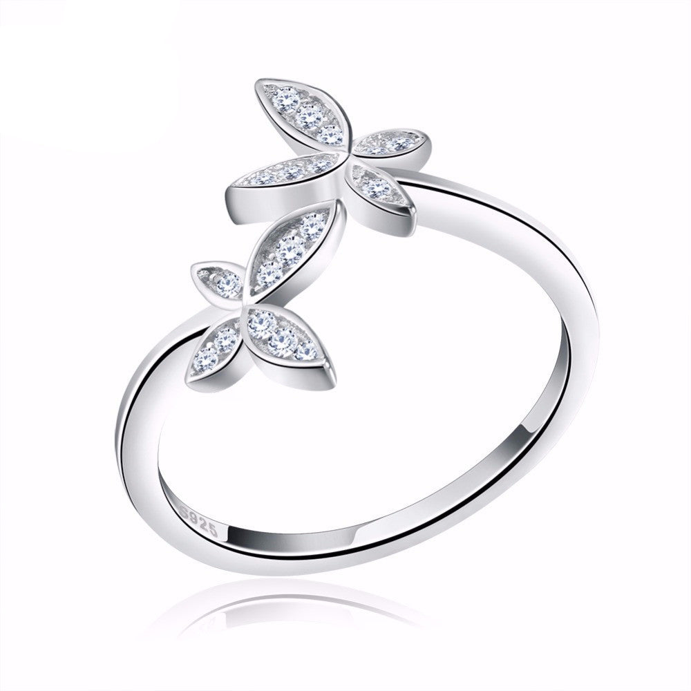 parshva dramatic ring flying jewels rings butterfly