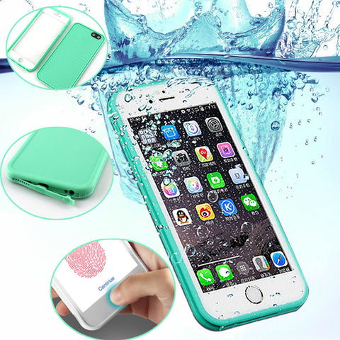 HOT - Luxury Shockproof & Waterproof Case for iPhone