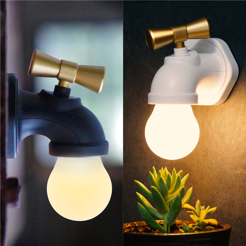 Voice Controlled Faucet-Shaped LED Night Lamp – Gearzapper