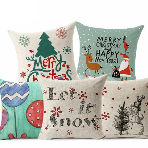Christmas Style Pillow Cover