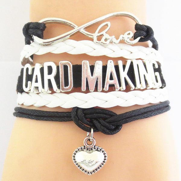 BRAND NEW - Love CARD MAKING Bracelet Giveaway