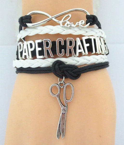 NEW - Infinity Love PAPER CRAFTING Bracelet