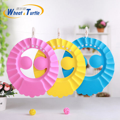 Adjustable Baby Shower Protective Eye Shield Cap