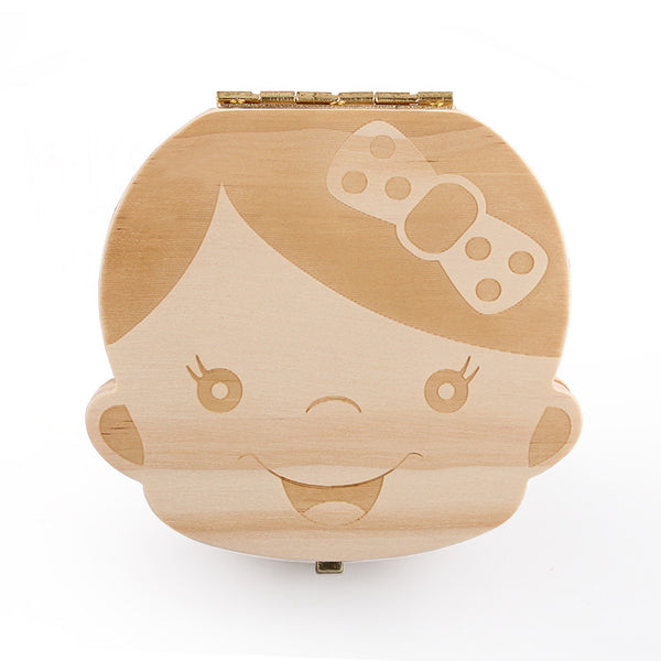 CUTE Baby Tooth Box Organizer