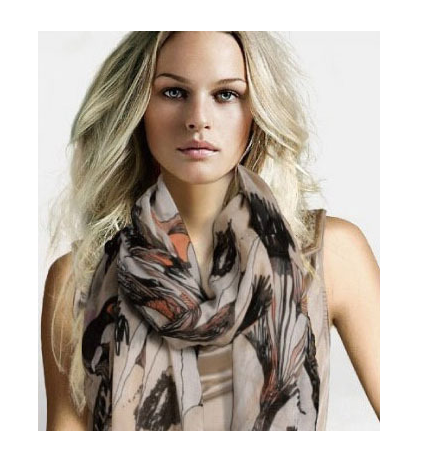 New Fashion autumn / summer silk Scarf for women