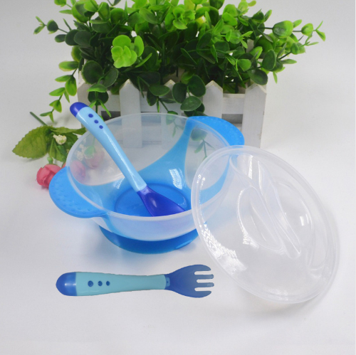 NEW Temperature Sensing Baby Tableware