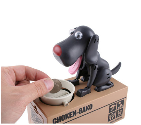 Cute Puppy Money bank