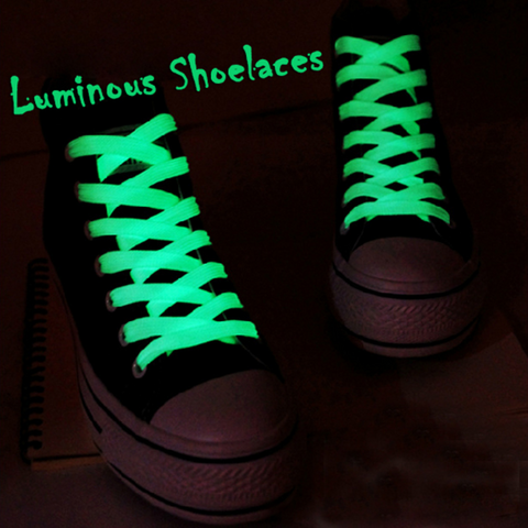 1 Pair sport Glow in the Dark shoelaces