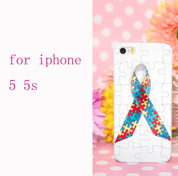 NEW - Autism Awareness Puzzle Iphone Cover