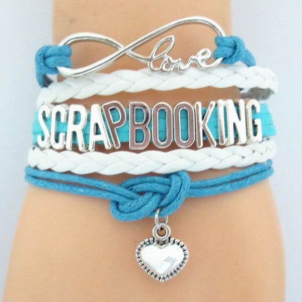 BRAND NEW - Love Scrapbooking Bracelet
