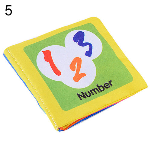 Educational Baby Cloth Book