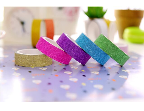10 pcs. Gold Glitter Washi Tape Giveaway