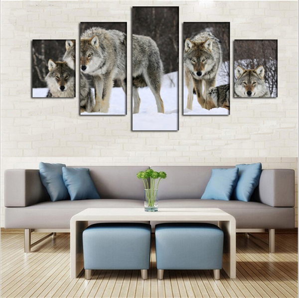NEW - Wolf Pack Wall Art - HD Quality