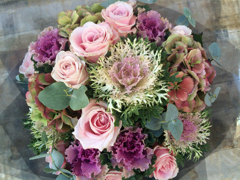 Bespoke - Seasonal hand-tied designed by our talented florists