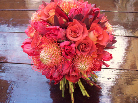 Burnt Orange Hand Tied