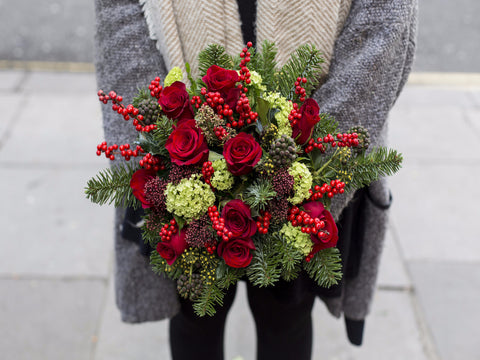 Happy Holiday Hand Tied