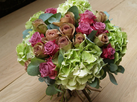 Antique Rose & Hydrangea Luxury Dome.