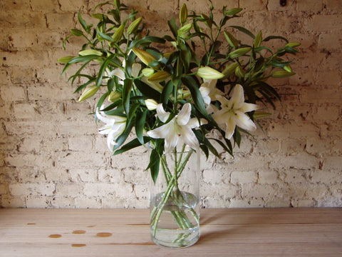 Just White Lilies